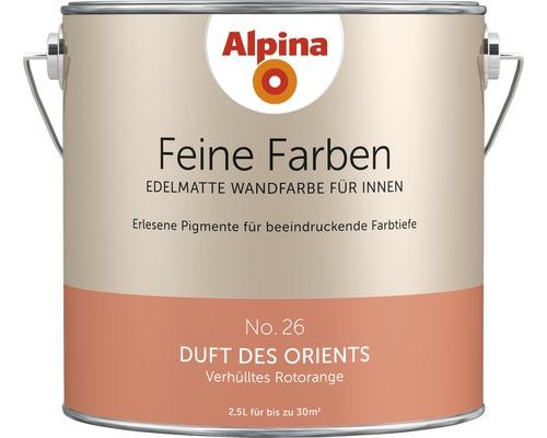 Peinture murale Alpina Feine Farben Duft des Orients 2,5 l
