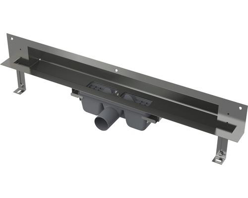 Duschrinne Wandeinbau APZ5-TWIN-750 edelstahl