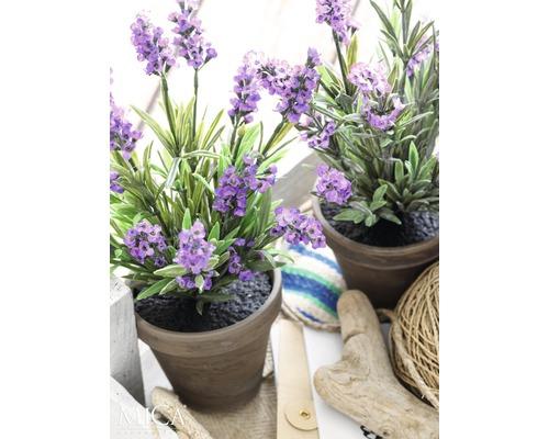 Plante artificielle Lavande, violet