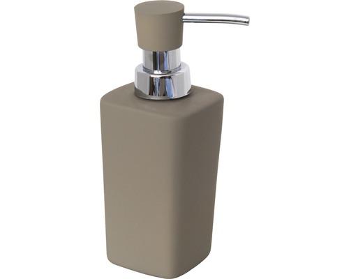 Distributeur de savon Haiti gris-brun-0