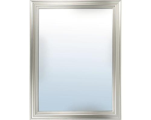 Miroir mural Omnia argent 50x70 cm-0