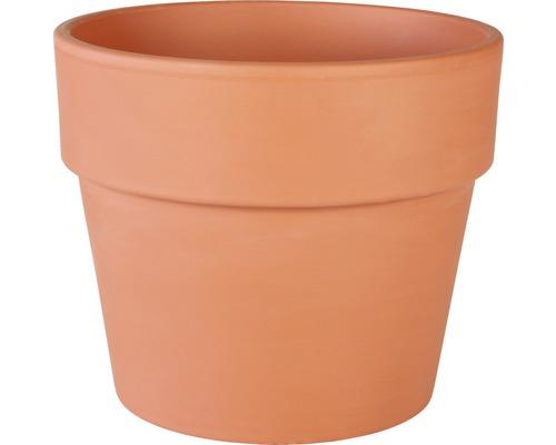 Pot de fleurs Spang Calima terre cuite Ø 19 H 17,5 cm terracotta
