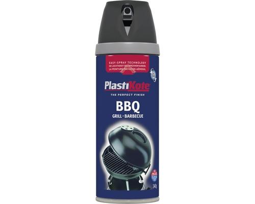 laque pulv riser premium plastikote peinture pour barbecue noire 400 ml hornbach luxembourg. Black Bedroom Furniture Sets. Home Design Ideas