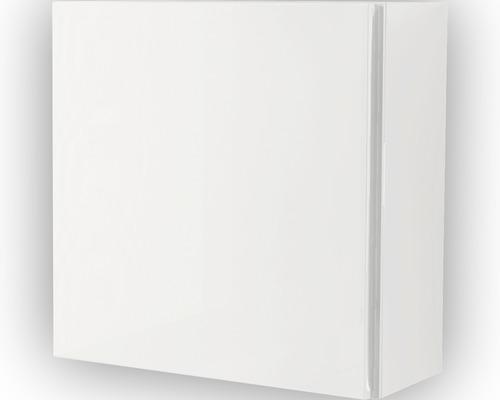 meuble suspendu blanc brillant 40x40 cm