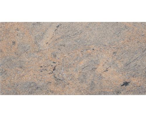 Carrelage de sol rouge-granit 30x60cm aspect marbre Brossé(e)