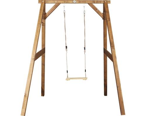 Balançoire simple axi Swing bois marron