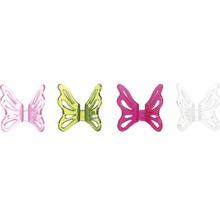 Clip pour orchidées Fleury papillon transparent-thumb-2