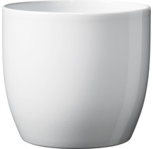 Pot de fleurs Soendgen Basel céramique Ø 13 H 12 cm blanc-thumb-0