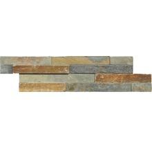 Pierre de parement en pierre naturelle ardoise multicolore Z40/10-thumb-0