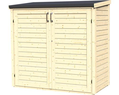 Armoire de jardin Multi-Box 2 164x82x163 cm nature