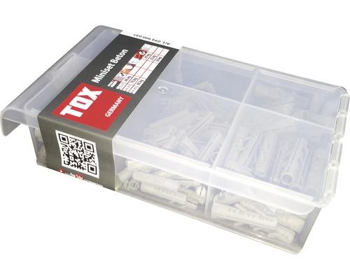 Boîte d''assortiment Tox Miniset Beton, 245 pièces