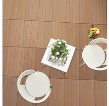 Dalle à clipser WPC 30 x 60 cm, brun-thumb-3