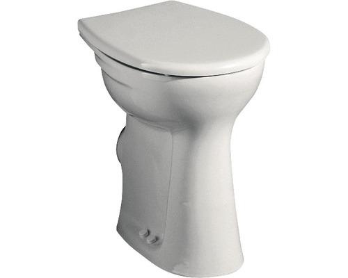 Keramag / GEBERIT erhöhtes Flachspül-WC Vitalis weiß stehend 211105000