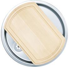 """Kit évier CENTA Zena 60 acier inoxydable lisse avec soupape à bouchon à grille 3 ½""""-thumb-2"""
