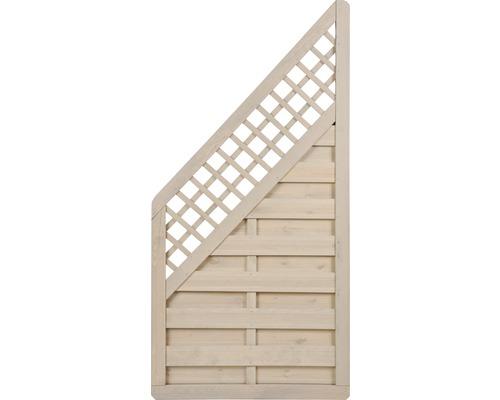 Élément de clôture Till 180/90x90cm, sable-0