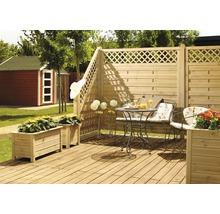 Élément de clôture Till 180/90x90cm, sable-thumb-1