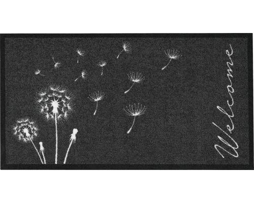 Paillasson Création Delion anthracite 66x120 cm-0