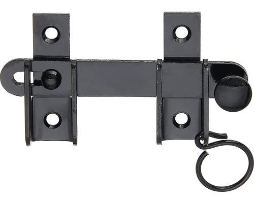 Fermeture de volet battant, KTL noir, 120x65 mm