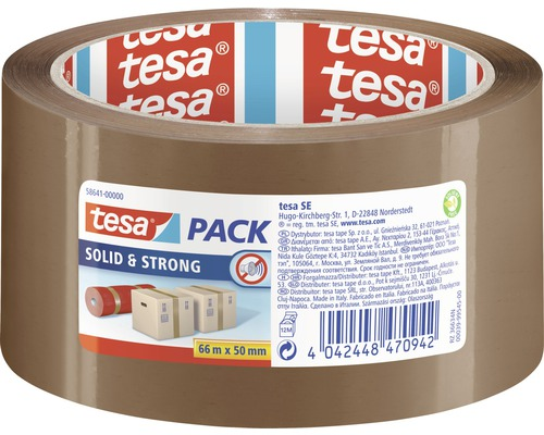 Bande adhésive d''emballage tesapack Perfect & Strong brun 66 m x 50 mm