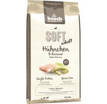 Nourriture sèche pour chien Bosch Soft poulet & banane 12,5 kg-thumb-0