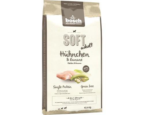 Nourriture sèche pour chien Bosch Soft poulet & banane 12,5 kg-0