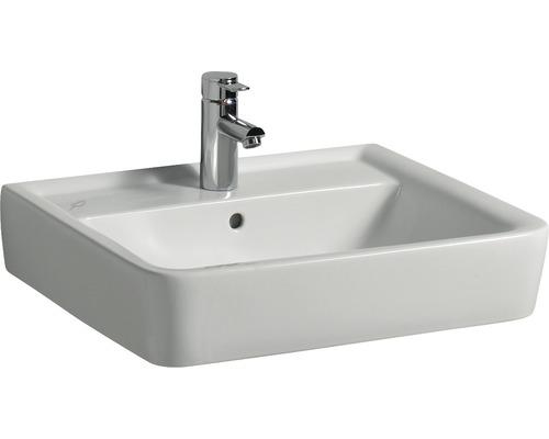 Lavabo GEBERIT Renova n° 1 Plan 60x48 cm blanc