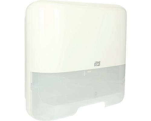 Distributeur d''essuie-mains en papier Tork blanc mini H3