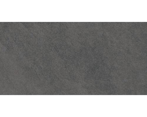 Carrelage de sol Scout noir 31x62 cm