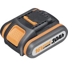 Batterie de rechange Worx 16 V Li (3 Ah)-thumb-0