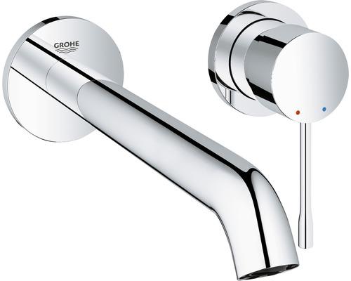 Mitigeur de lavabo GROHE Essence 19967001 chrome sans mécanisme de vidage