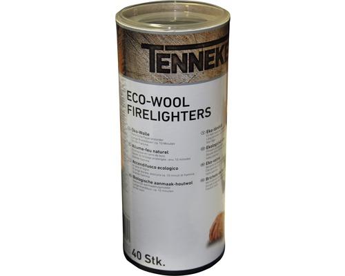 Laine d''allumage écologique Tenneker® 40 unités