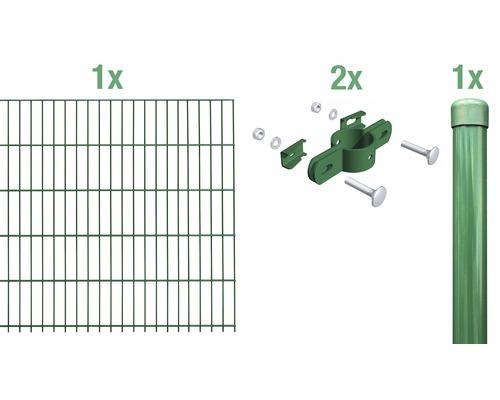 Einstabmatte Anbauset 200x100 cm, grün