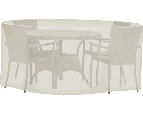 Housse de protection Tepro pour kit de meubles de jardin Ø 200 H 95cm