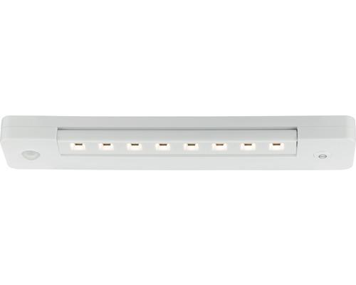 Éclairage d''armoire Smartlight avec capteur chrome/mat à intensité lumineuse variable avec 1 ampoule 140 lm 3000 K blanc chaud B 250 mm