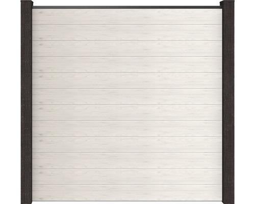 Set prêt à l''emploi sans poteau Flex 180x180cm fermé, blanc-beige sans poteau