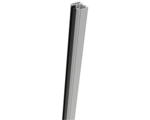 Rail de serrage Belfort à droite 93.5cm, argent-blanc