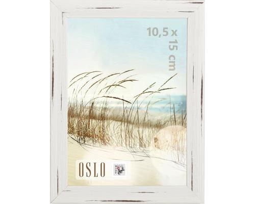 Cadre Oslo blanc 10x15 cm
