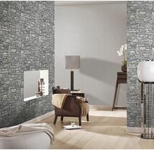 Papier peint intissé 859102 Modern Surfaces pierres gris-thumb-1