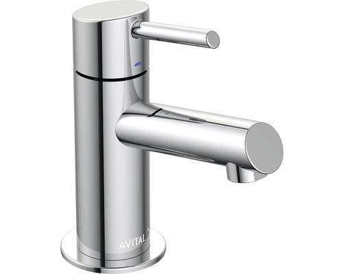 Robinet de lave-mains AVITAL Lima 137703 chrome sans bonde de vidage