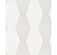 Papier peint intissé 342703 Wallton Rayures blanc-thumb-0