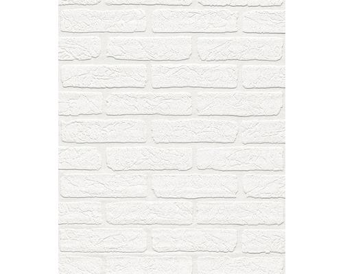 Papier peint intissé 150100 Wallton Aspect pierre blanc