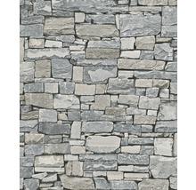 Papier peint intissé 859102 Modern Surfaces pierres gris-thumb-0