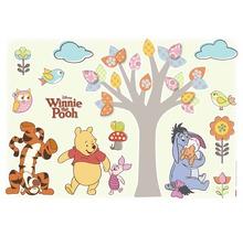 Sticker mural Disney Edition 3 WINNIE POOH NATURE 50 x 70 cm-thumb-0