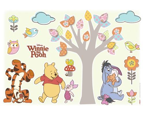 Sticker mural Disney Edition 3 WINNIE POOH NATURE 50 x 70 cm-0