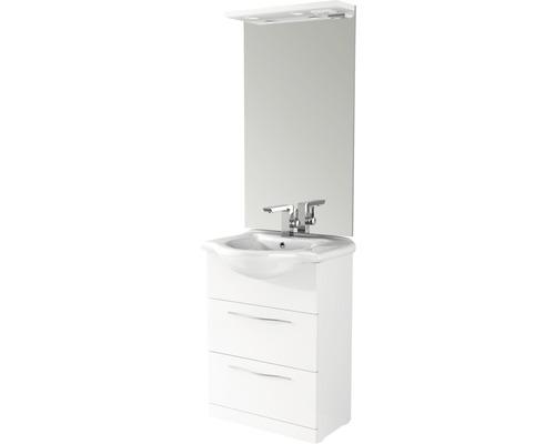 Kit de meubles de salle de bains BAHIA 65cm y compris LED 190x50 cm