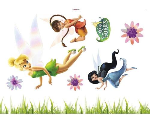 Sticker mural Disney Edition 3 FAIRIES 50 x 70 cm-0