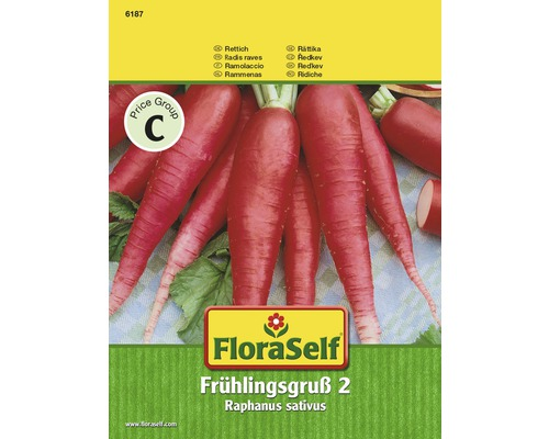 Grand radis Printanier semences de légumes FloraSelf®-0