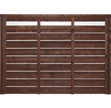 Élément de clôture EASYFIX Type F 130 x180 cm brun-thumb-0