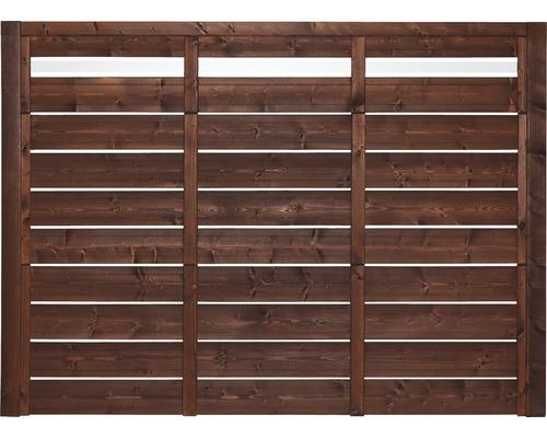 Élément de clôture EASYFIX Type F 130 x180 cm brun-0