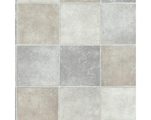 PVC Swona Carrelage Gris Clair Largeur Cm Marchandise Au Mètre - Carrelage gris clair